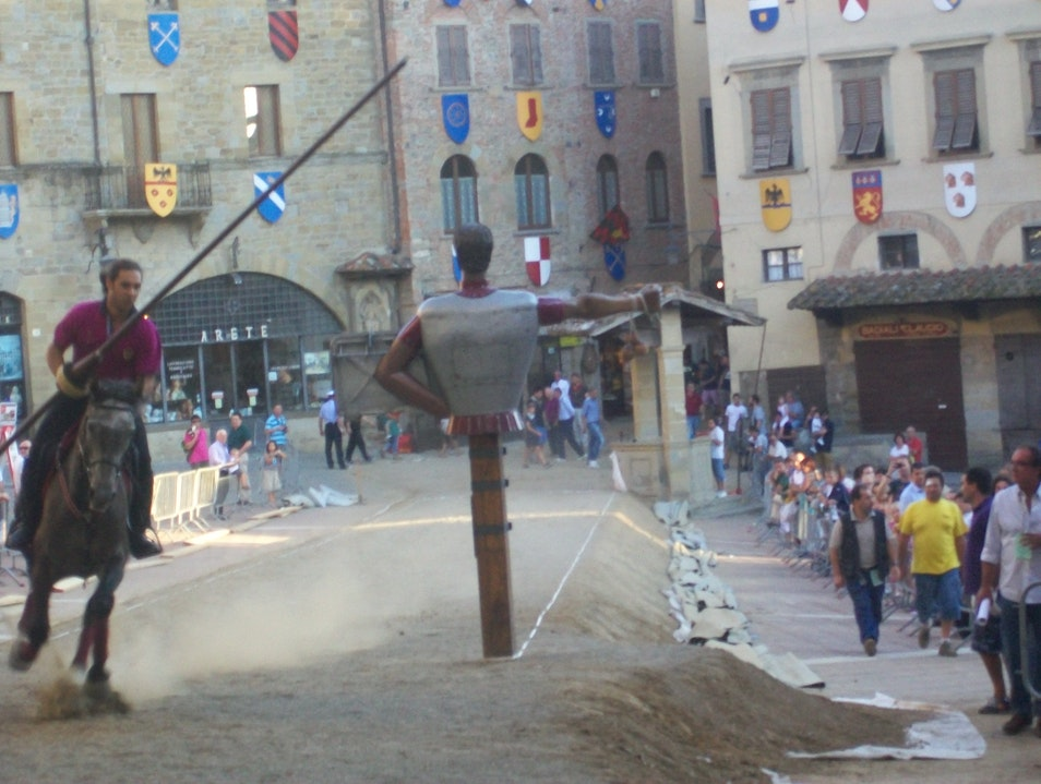 Joust of the Saracen Arezzo  Italy
