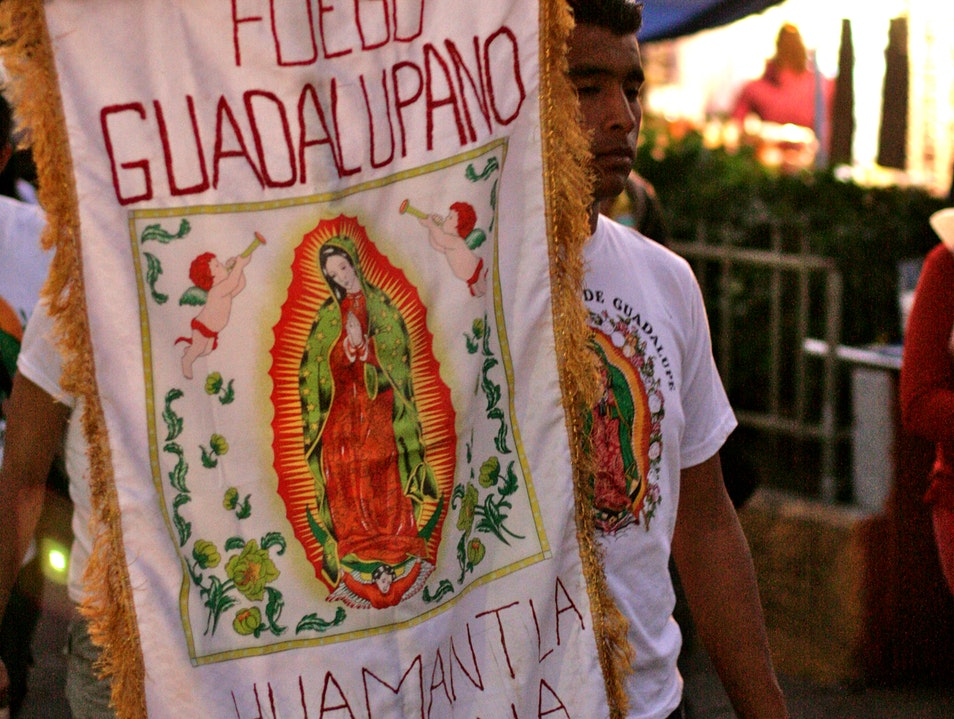 Experience the Feast Day of the Virgin of Guadalupe Mexico City  Mexico