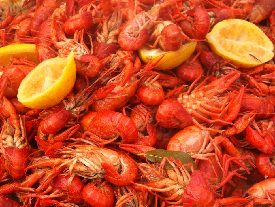 Crawfish Boil The Cajun Way! Houston Texas United States
