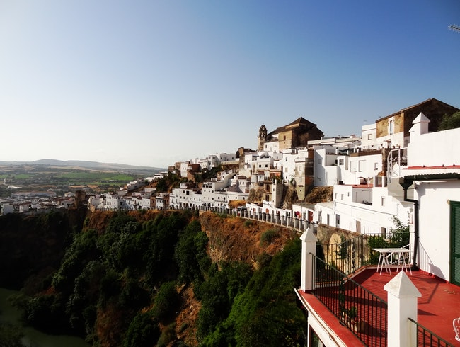 An amazing view of Arcos de la Frontera