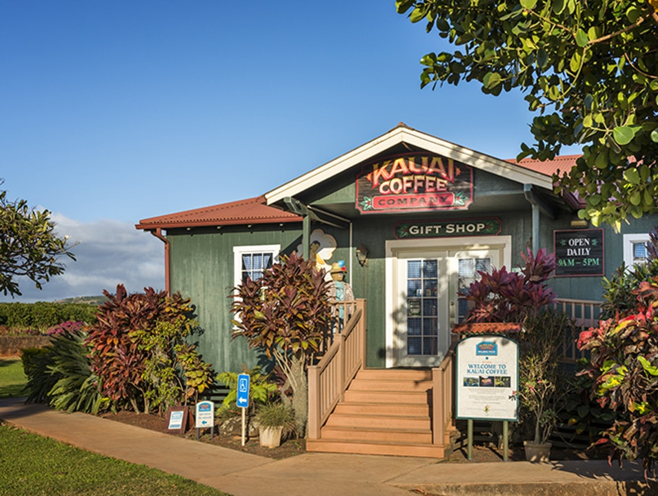 Kauai Coffee Company  Kalaheo Hawaii United States