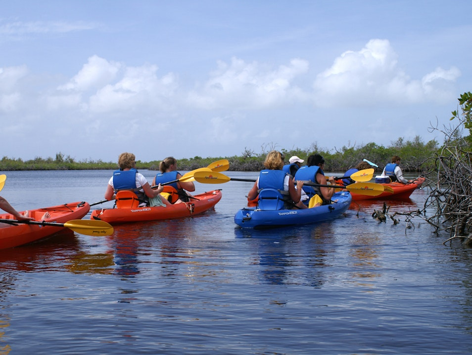 Kayaking in Cayman Brac