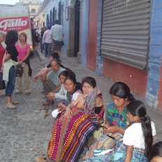 Stree Shopping, Antigua, Guatemala