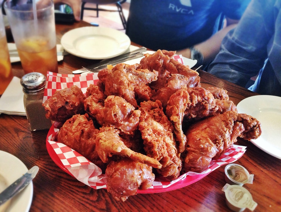The Best Fried Chicken in the South at Willie Mae's Scotch House