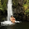 Faarumai Waterfalls Haapupuni  French Polynesia