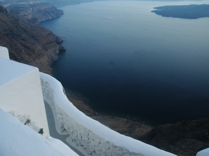 Caldera Walk Thira  Greece