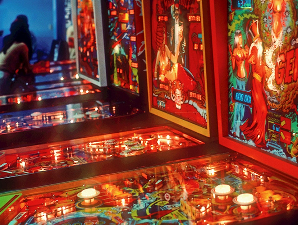 Play at This Barcade and Restaurant Los Angeles California United States