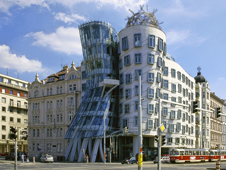 Dancin' Dancin' Dancin' Building.... Prague  Czechia