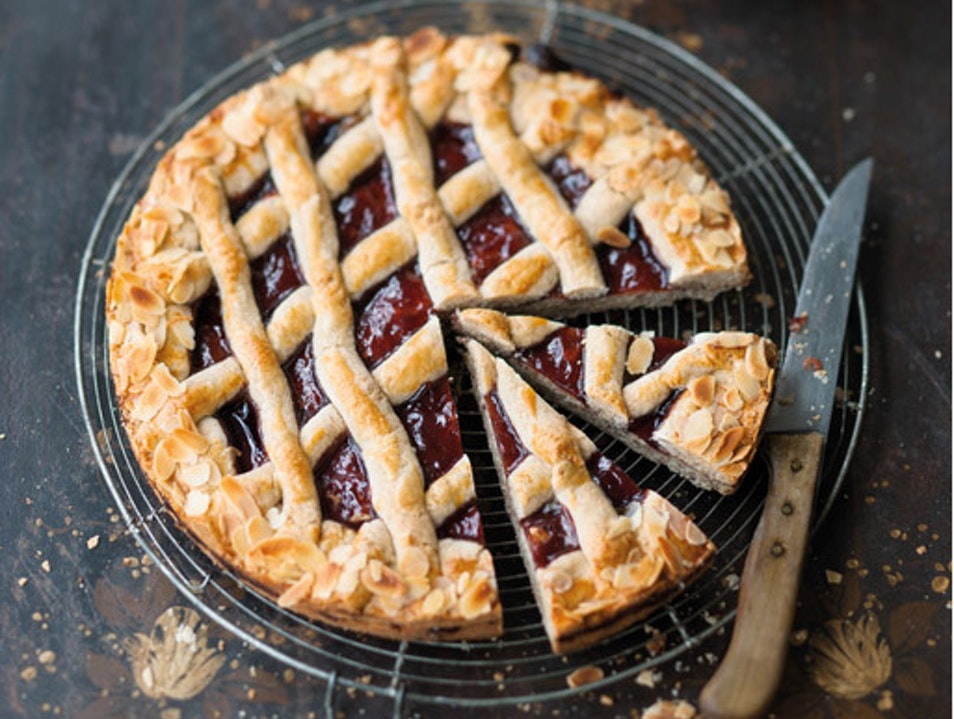 Enjoy a slice of Linzer Torte