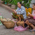 The Morning Market Luang Prabang  Laos