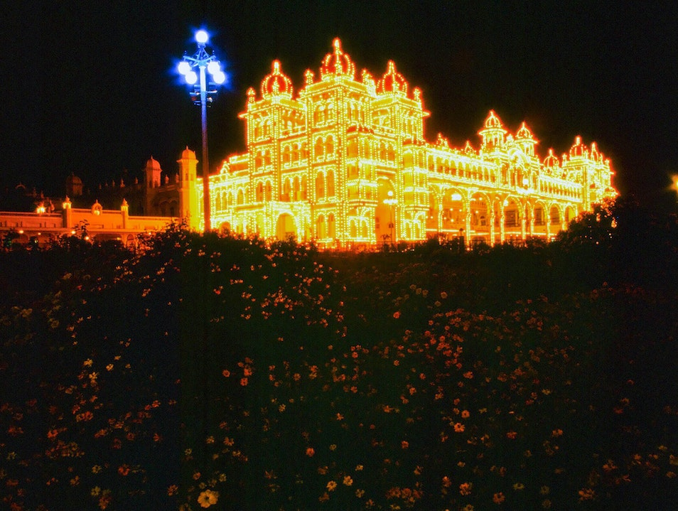 Bask in the Light of the Mysore Palace Mysore  India