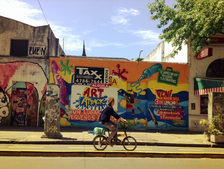 Explore the contemporary culture of Palermo Buenos Aires  Argentina