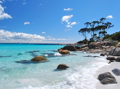 Bay of Fires Walk Ansons Bay  Australia