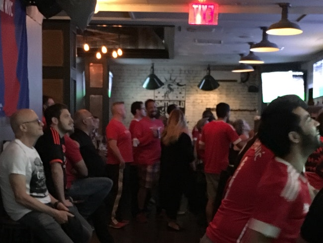 Manchester United vs Laster 07:30 at Smithfield Tavern NYC