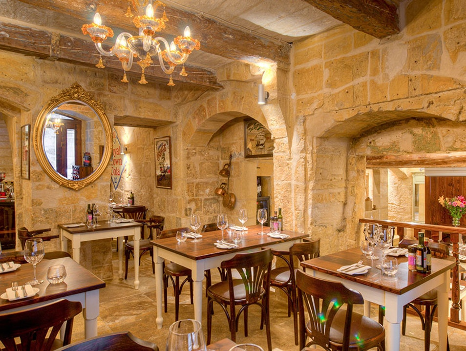 Fresh Food in Historic Surroundings Il-Belt Valletta  Malta