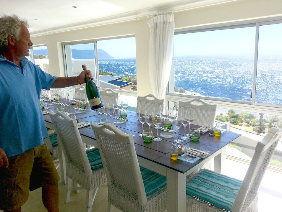The Chef's Table with a Sea View Simonstown  South Africa
