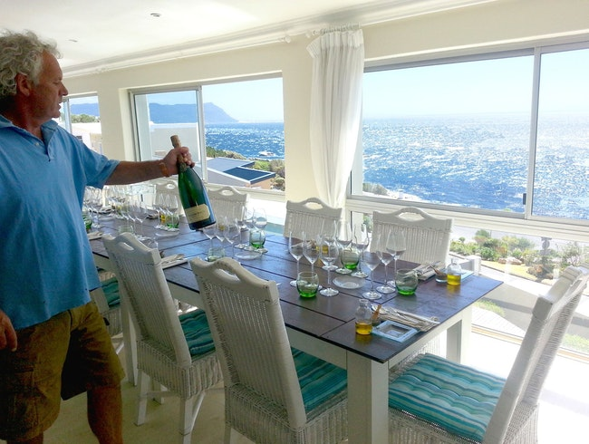 The Chef's Table with a Sea View