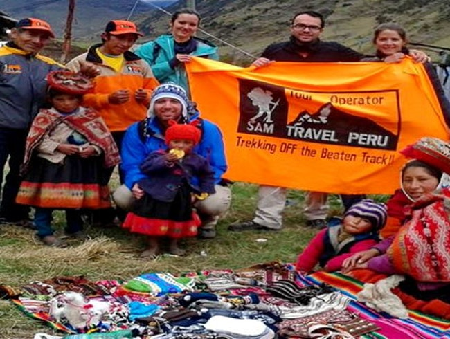 "Lares trek to Machu Picchu with the Tour Operator ""SAM Travel Peru"""