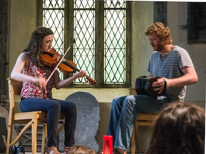 Tunes in Church - St. Nicholas' Collegiate Church Galway  Ireland