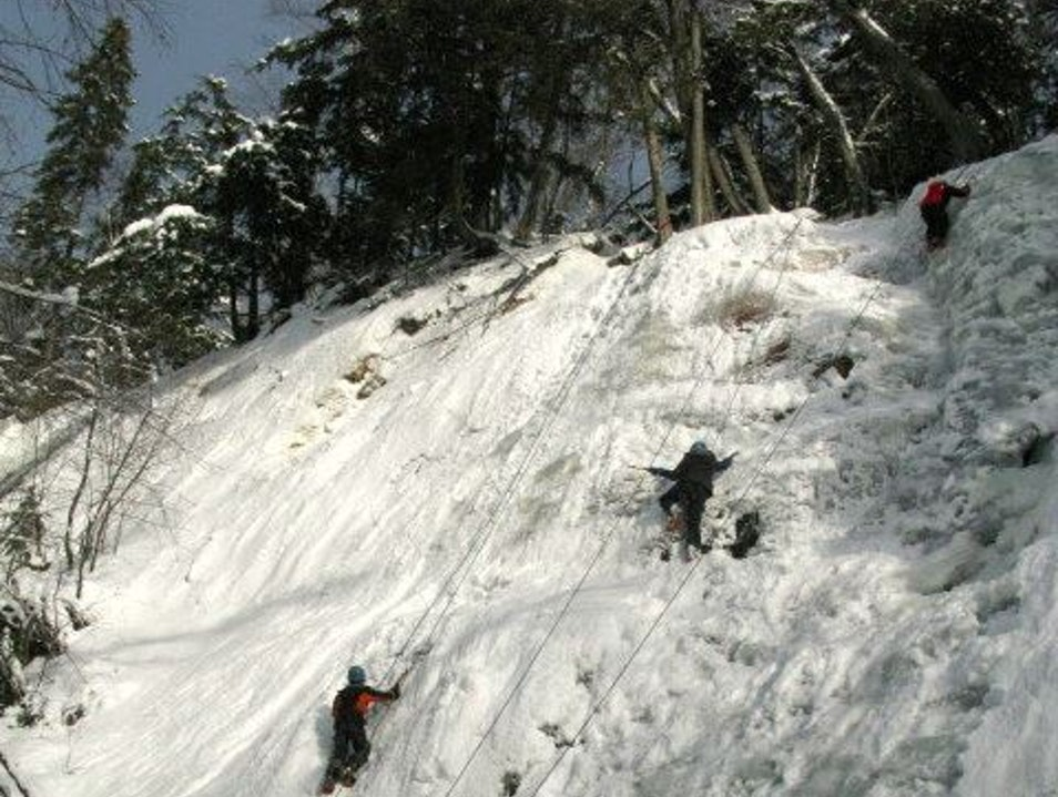 Ice Climbing Tremblant! Mont-Tremblant  Canada