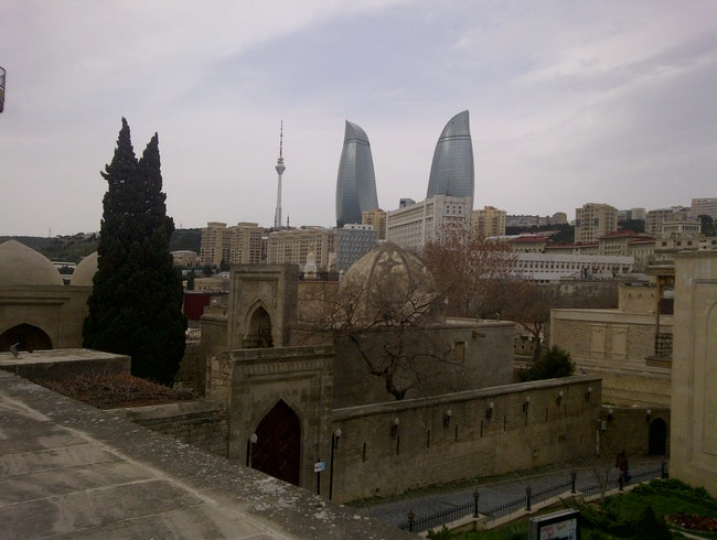 Old vs. New in Baku