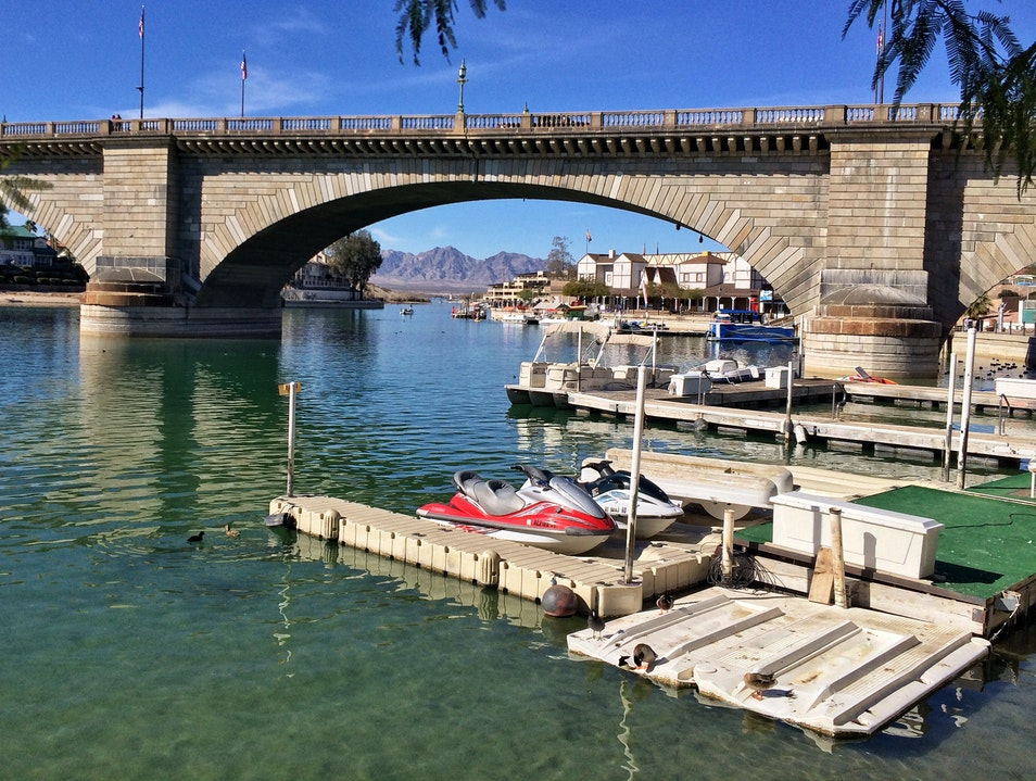 Arizona's second-most-visited attraction: London Bridge Lake Havasu City Arizona United States