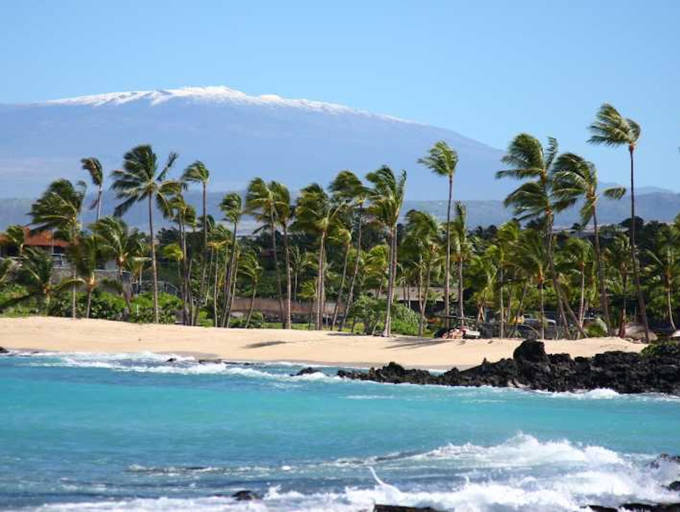 Majestic Maunakea and Maunaloa Hilo Hawaii United States
