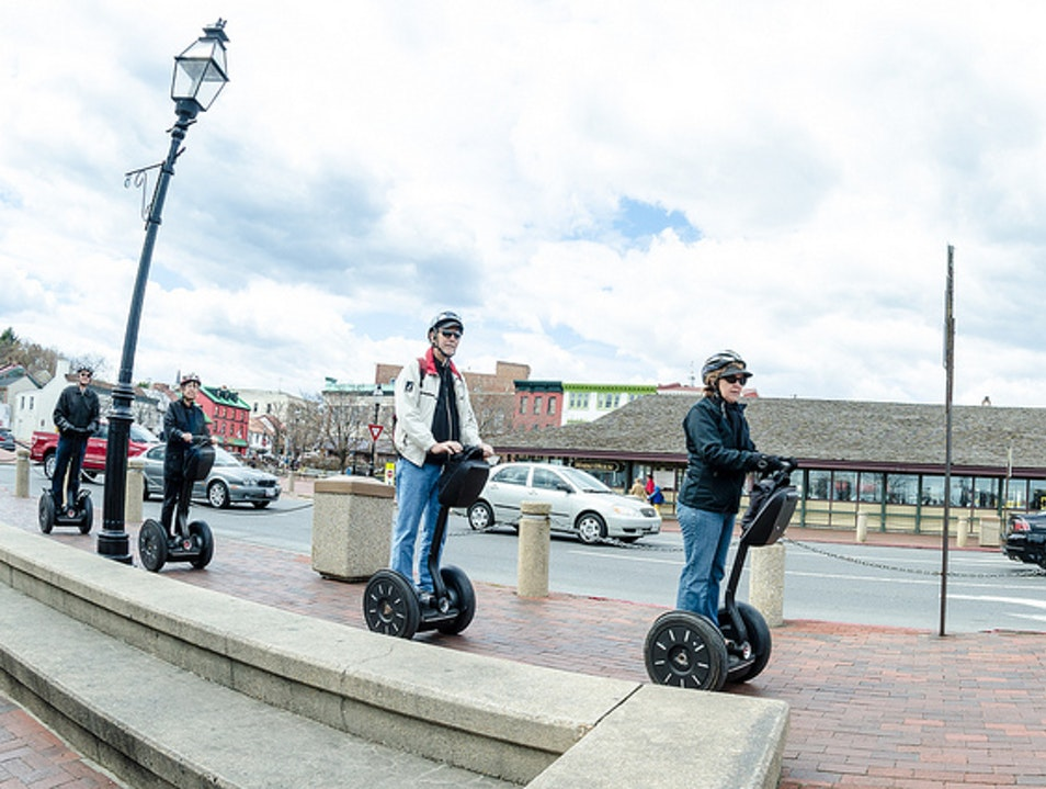 Fun Segway Tour around Town Annapolis Maryland United States