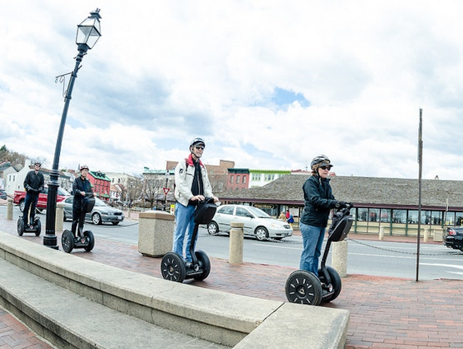 Fun Segway Tour around Town