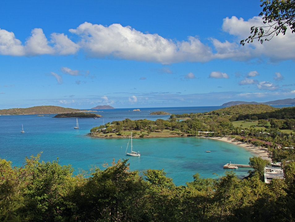 Snorkel Through Coral Reefs at Caneel Bay Virgin Islands National Park  United States Virgin Islands