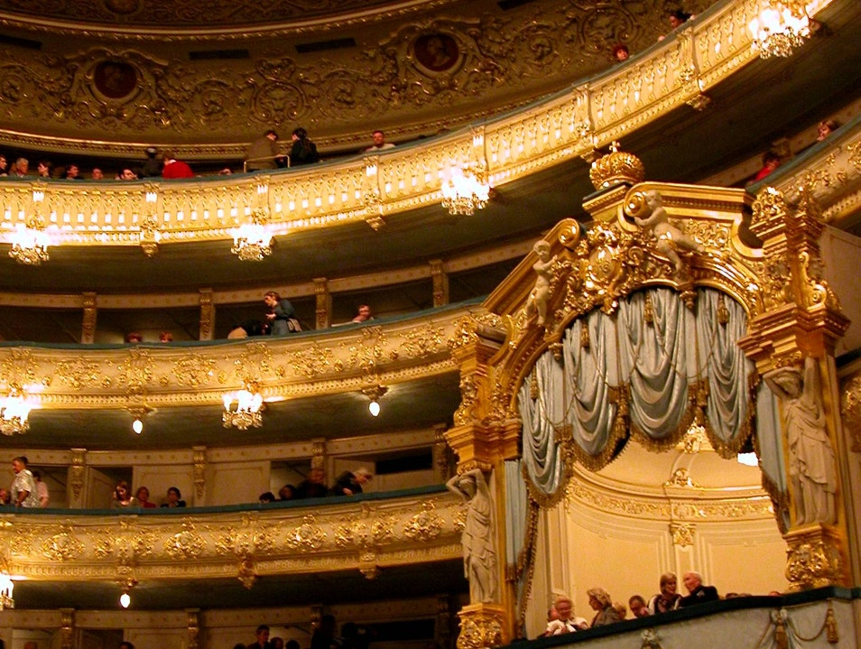 a night at the opera St. Petersburg  Russia