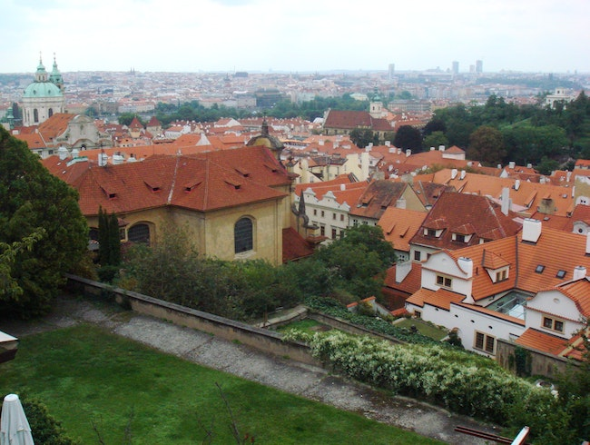CATCH: The view from Prague Castle