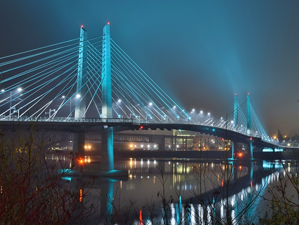 Tilikum Crossing Portland Oregon United States