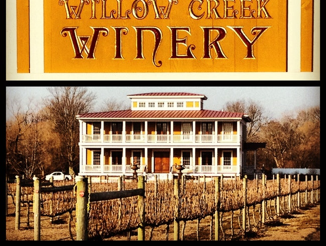 Willow Creek Winery in Cape May