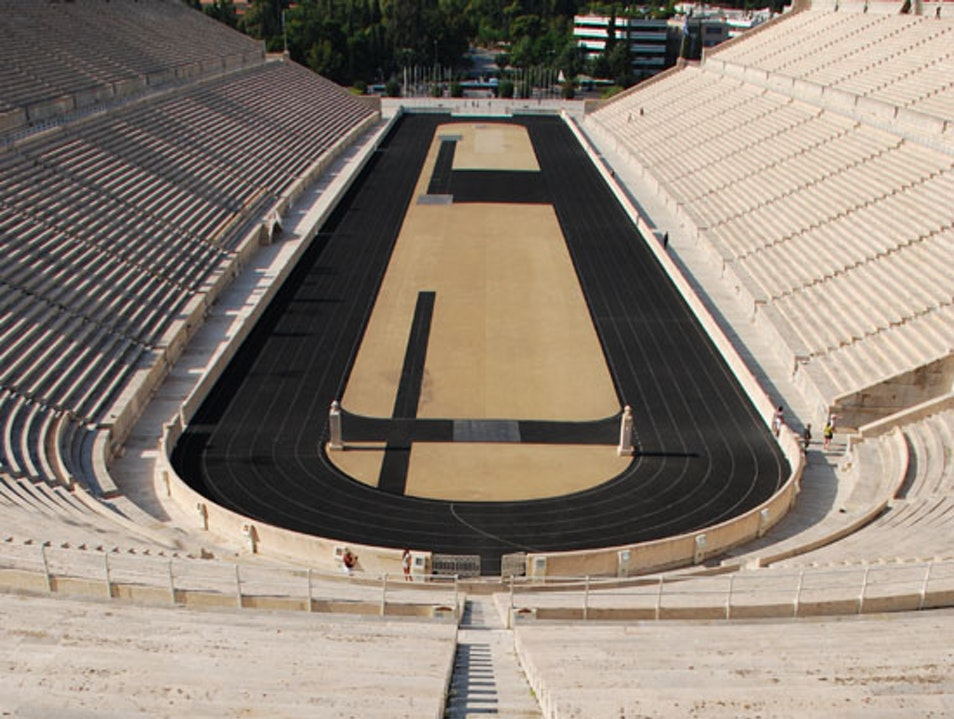 Athens Tips Part 16 - Panathenaic Stadium Athens  Greece