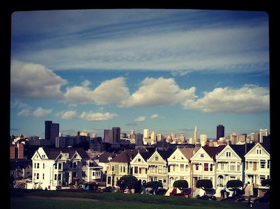 Historic Alamo Square District San Francisco California United States