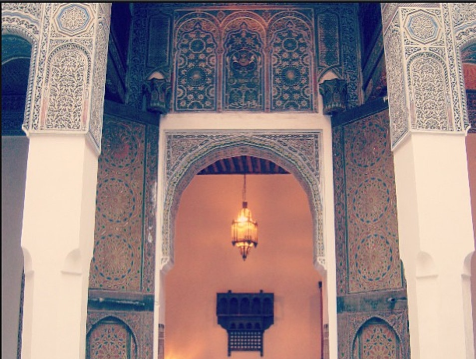 Stay at a Beautiful Riad in the Medina Fes  Morocco
