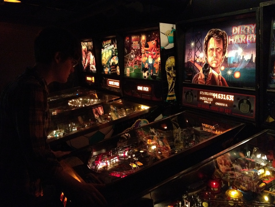 Arcade Games and Drinks at Paramount