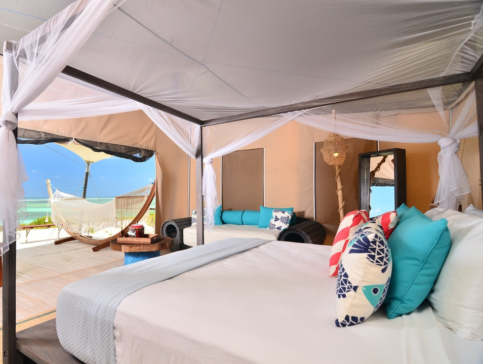 Glamping in Anegada  Anegada  British Virgin Islands
