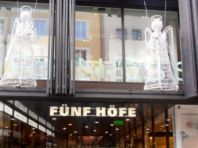 Fünf Höfe Munich  Germany
