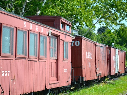 Maine Narrow Gauge Railroad Co. & Museum Portland Maine United States