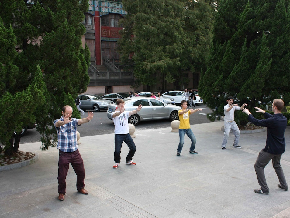 Newman Tours: Gangsters, historians and kung fu masters Shanghai  China
