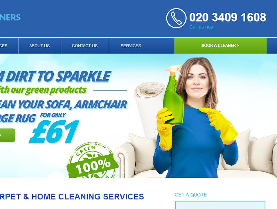 Great Cleaning Company! London  United Kingdom