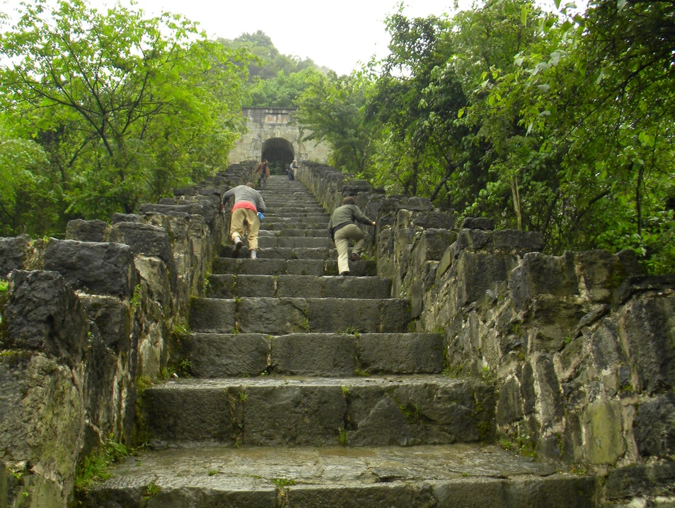Climb the Horse Steps to a Medieval Fortress Zunyi  China
