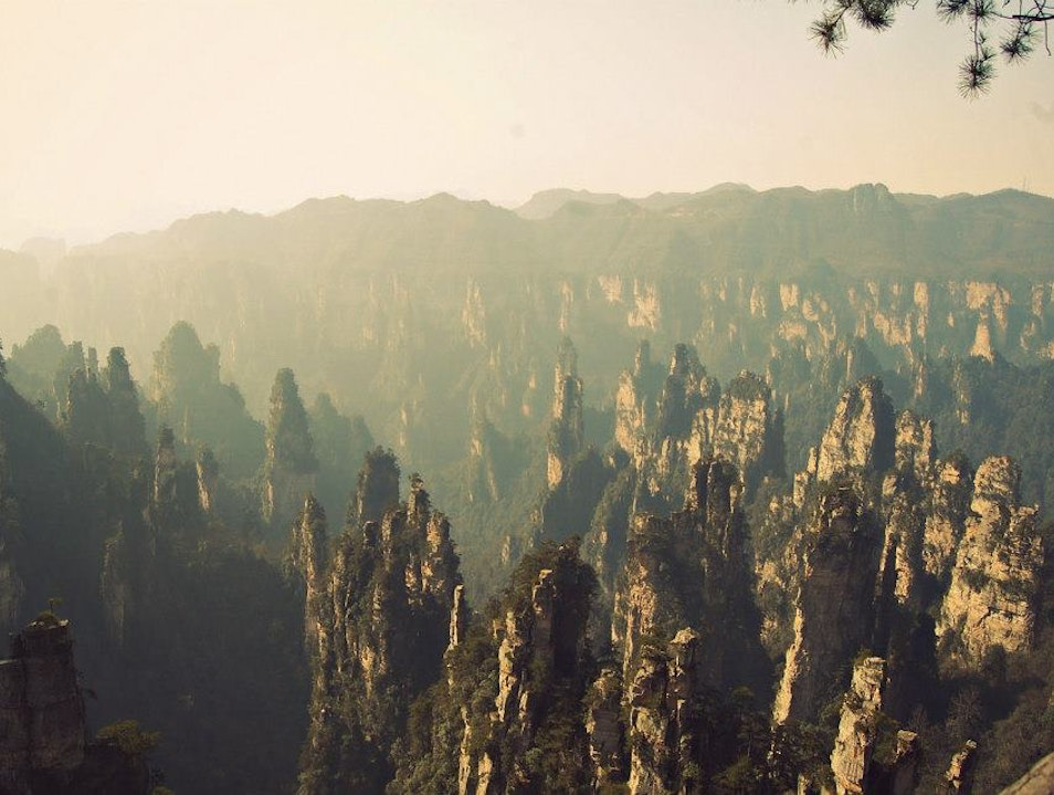 The Peaks of Zhangjiajie