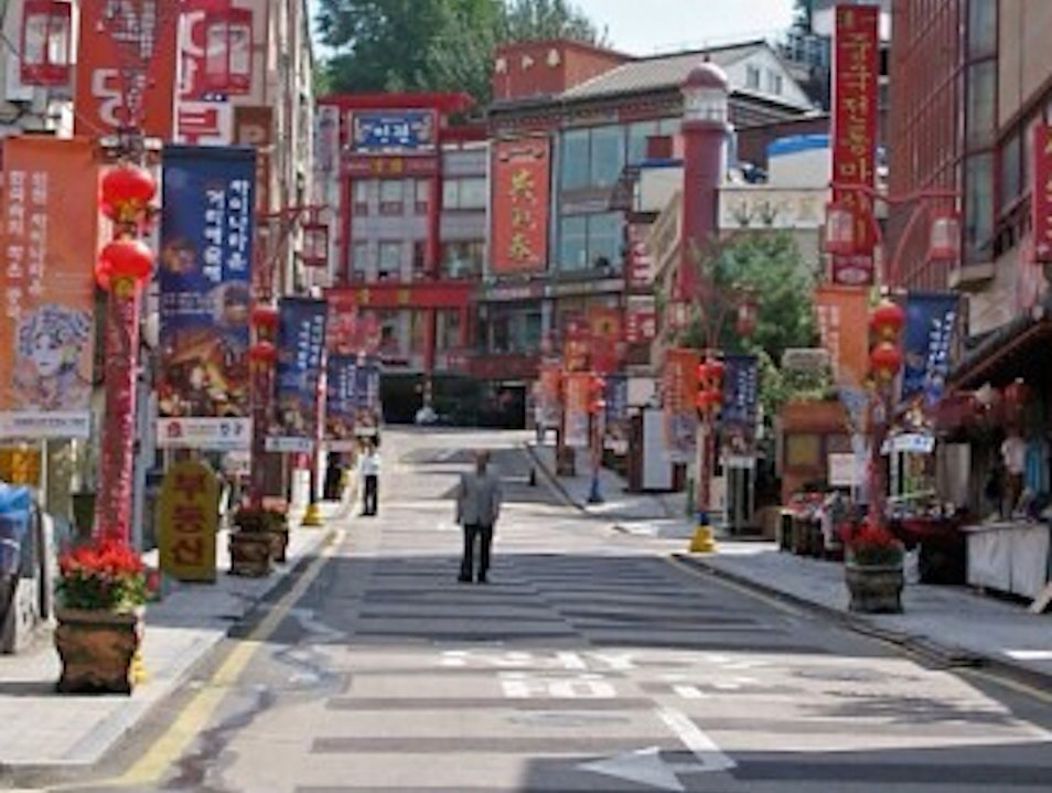 Incheon's Chinatown Incheon  South Korea