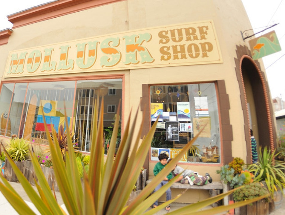 Mollusk Surf Shop - not just for surfers San Francisco California United States
