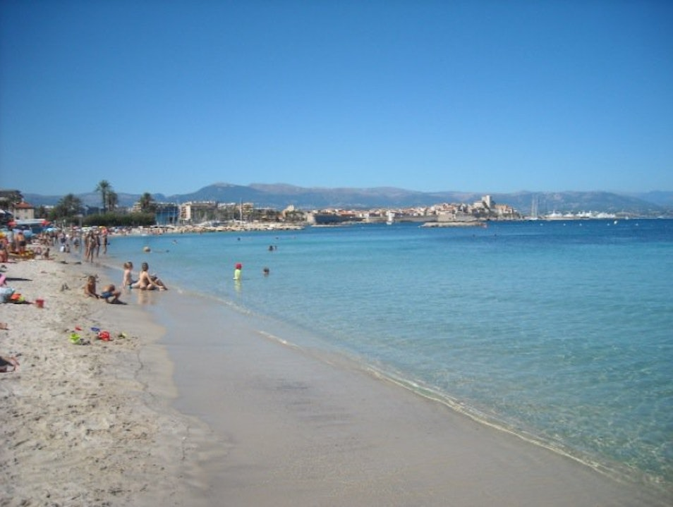 One of the Most Beautiful Beaches in France Antibes  France