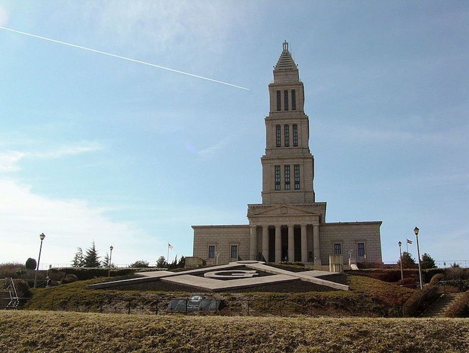 The George Washington Masonic National Memorial Alexandria Virginia United States