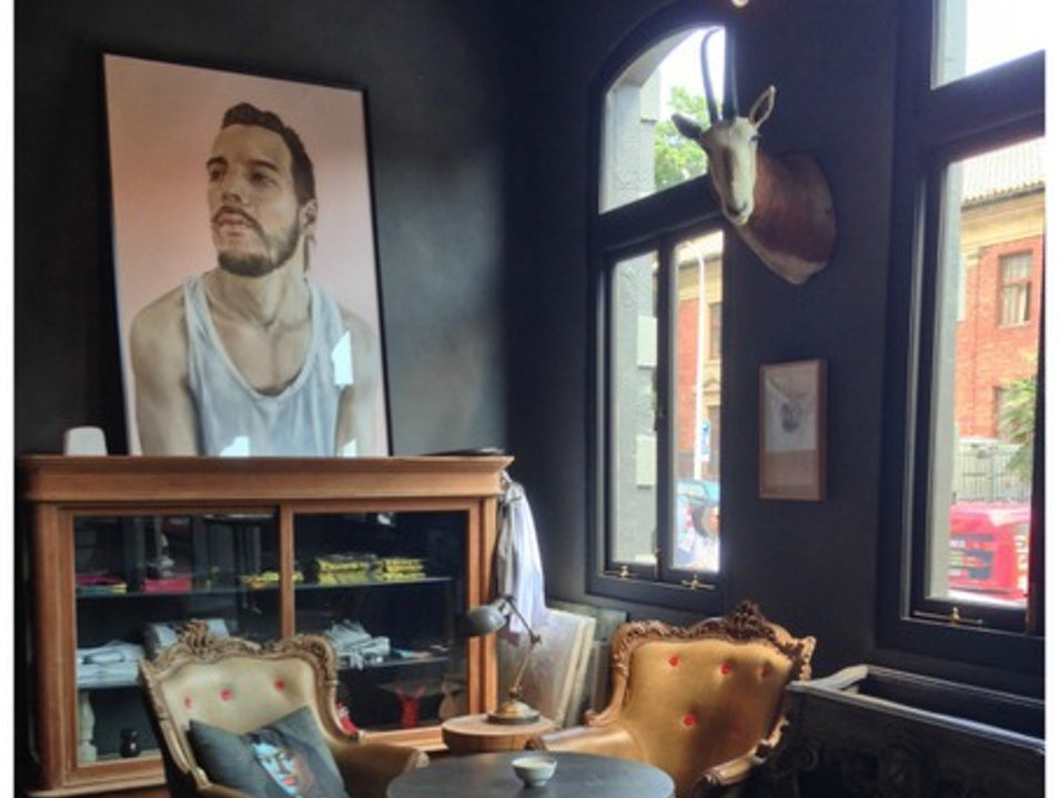 Coffee and Collectibles in Cape Town